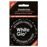White Glo Activated Charcoal Teeth Polishing Powder 30g