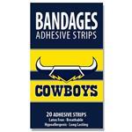 NRL Bandages Cowboys 20 Pack