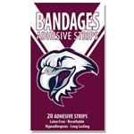 NRL Bandages Manly Warringah Sea Eagles 20 Pack