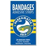 NRL Bandages Parramatta Eels 20 Pack