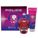 Police To Be Miss Beat Eau de Toilette 75ml 2 Piece Set