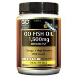 GO Healthy Fish Oil 1500mg Odourless 420 Capsules