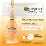 Garnier Fresh Mix Tissue Mask Vitamin C Energizes & Illuminates