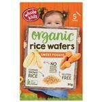 Whole Kids Rice Wafer Sweet Potato 20g 5 Pack