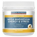 Ethical Nutrients MEGAZORB Mega Magnesium Energy and Stress 230g