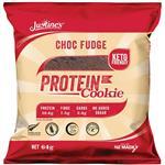 Justines Choc Fudge Protein Cookie 64g