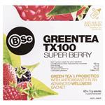 BSC Green Tea TX100 Super Berry 60 x 3g Serve