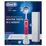 Oral B Pro 100 3D White Polish Power Toothbrush Pink