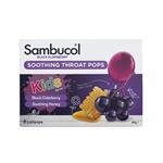 Sambucol Kids Soothing Throat Pops 8 Pack