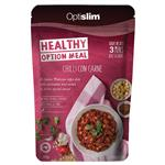Optislim Healthy Option Meal Lentil Chilli Con Carne 300g New