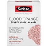 Swisse Blood Orange Brightening Clay Mask 70g