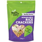 Healthy Way Remarkable Rice Crackers 100g