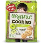 Whole Kids Organic Apple Cookies 20g x 4 Pack
