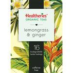 Healtheries Organic Lemongrass & Ginger Tea 16