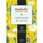 Healtheries Organic Chamomile & Vanilla Tea 16