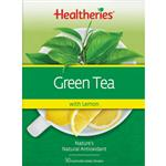 Healtheries Green Tea with Lemon 50 Bags