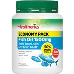 Healtheries Fish Oil 1500mg 270 Capsules