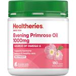 Healtheries Evening Primrose Oil 1000mg 180 Capsules