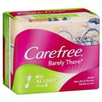 Carefree Barely There Aloe Liners 42