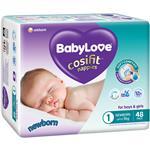 BabyLove Cosifit Bulk Nappies Newborn 48 Pack
