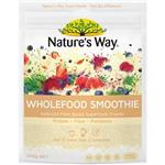 Nature's Way Wholefood Smoothie Vanilla Pouch 200g