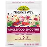 Nature's Way Wholefood Smoothie Berry Pouch 200g