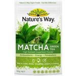 Nature's Way Superfoods Matcha Green Tea Powder 50g
