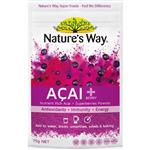 Nature's Way Super Foods Acai Powder 75gm