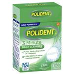 Polident Cleanser 3 Min Fresh Active 60 TabletS