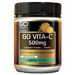 Go Healthy Vita-C 500mg Orange Chewable 200 Tablets