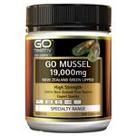 GO Healthy Mussell 19000mg New Zealand Green Lipped 300 Capsules
