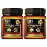 GO Healthy Manuka Honey UMF 12+ /MGO 356+ 250gm 2 Pack