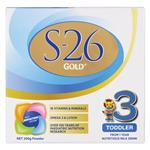 S26 GOLD Stage 3 Toddler milk drink from 1 year 200g