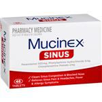 Mucinex Sinus 48 Tablets