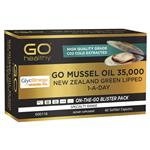 GO Healthy Mussel Oil 35000mg 1 A Day 60 Capsules