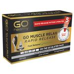 GO Healthy Muscle Relax Rapid Release 30 Vege Capsules