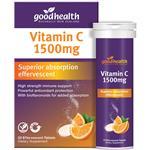 Good Health Vitamin C 1500mg 30 Effervescent Tablets