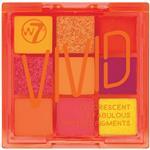 W7 Too Fabulous Vivid Pressed Pigment Eyeshadow Palette Outrageous Orange