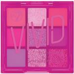 W7 Too Fabulous Vivid Pressed Pigment Eyeshadow Palette Punchy Pink